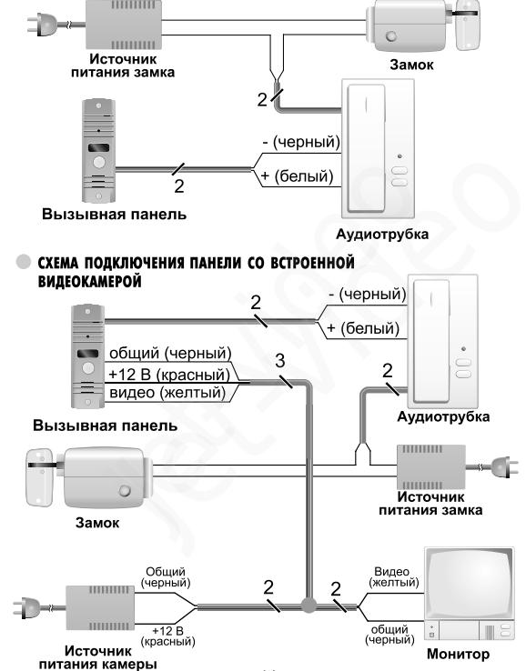 вызывная панель avc 105 схема